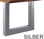U-Gestell Silber Breit